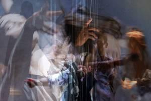 Verlust, Chromira perl auf Aludibond ©C.Rosteck