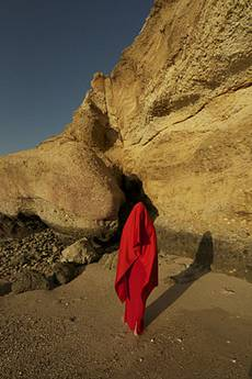 w_oman red, Foto auf Metall, 60x40cm ©C.Rosteck