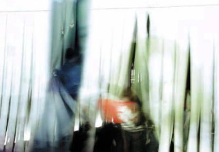 curtain white, Fine Art metallic print auf Aludibond, 90x130 cm ©C.Rosteck