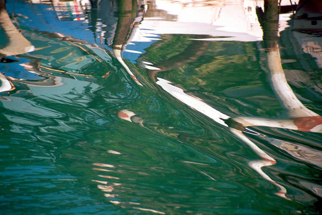 Grado I - IV, Wasserspiegelungen, 100x130cm,   Iris Glicée Druck, 2003/2019
